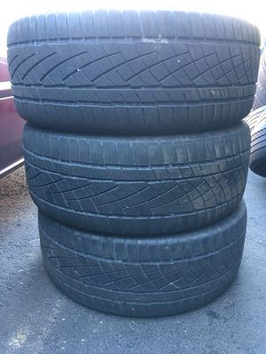3 set used tire 255/50/R19 All is $80 for Sale in Leesburg, VA