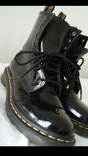 Dr.Marten boots see pictures size womens 9/ size 7 mens $100 . buyer must come to me. Boots still look new worn few times only for Sale in Washington, DC