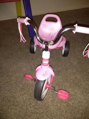 Used, Radio flyer for toddlers used bought my baby a new bike for christmas for sale  Tulsa, OK
