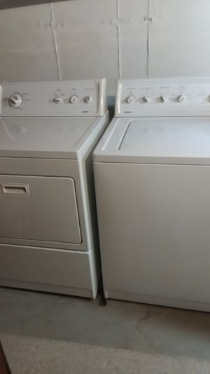 Photo Kenmore 90 Series Heavy Duty Washer & Dryer