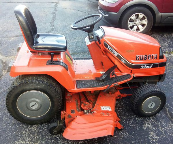 Kubota Garden Tractor Lawnmower For Sale In Indianapolis In Offerup