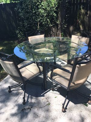 Patio Table And Chairs From Star Furniture For In South Houston Tx