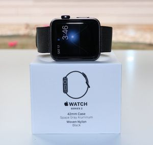 Apple Watch Series 2 GPS 42mm Space Gray for Sale in Orlando, FL