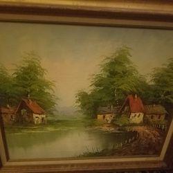Large Beautiful Painting Thumbnail
