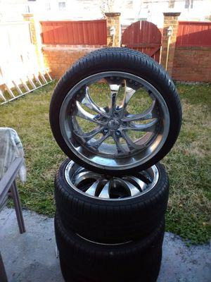 20in Rims and Tires for Sale in Manassas, VA