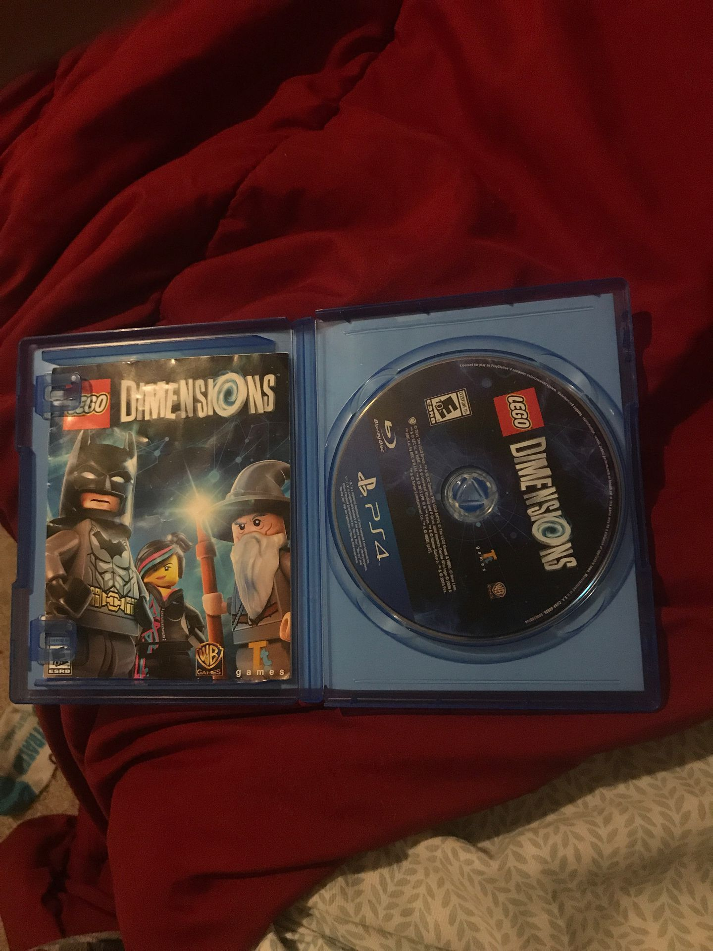 LEGO dimensions cd and case only (other things not included)