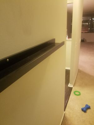 Espresso Long Floating Shelf for Sale in Chicago, IL