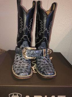 Ostrich boots Thumbnail