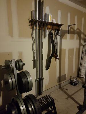 Barbell rack for Sale in San Antonio, TX