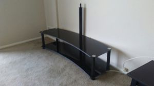 Midnight Curved TV stand for Sale in Cleveland, OH