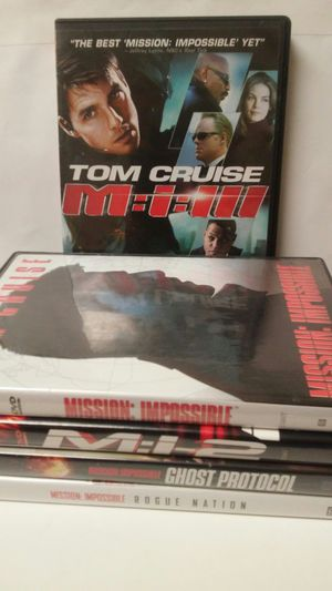 Mission impossible collection for Sale in Glen Burnie, MD