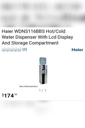 Haier water dispenser for Sale in Boothwyn, PA