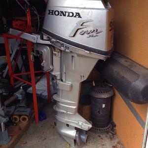 Honda boat motor.Hp for Sale in Portland, OR