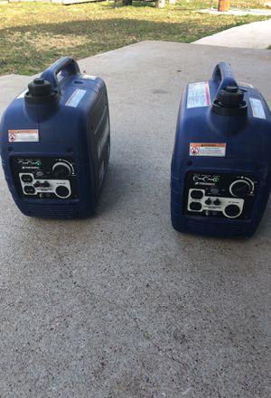 Powerhourse 2000 watt inverter generators for Sale in Winters, TX