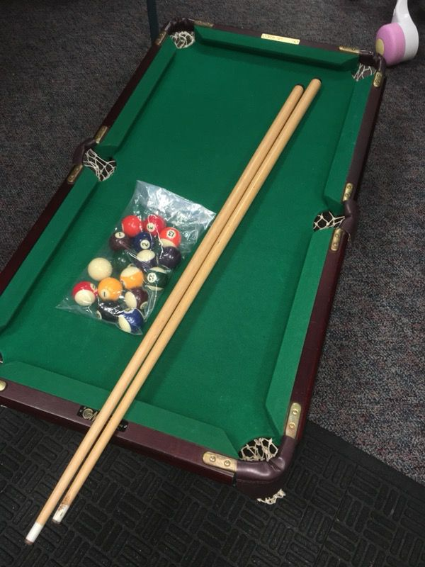 Vintage GMI Minnesota Fats Mini Pool Table For Sale In Chalfont PA - Minnesota fats miniature pool table