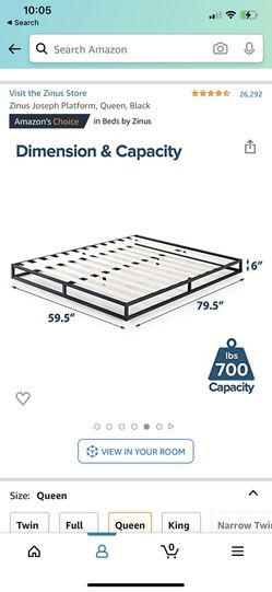 Low Bed Frame  Thumbnail