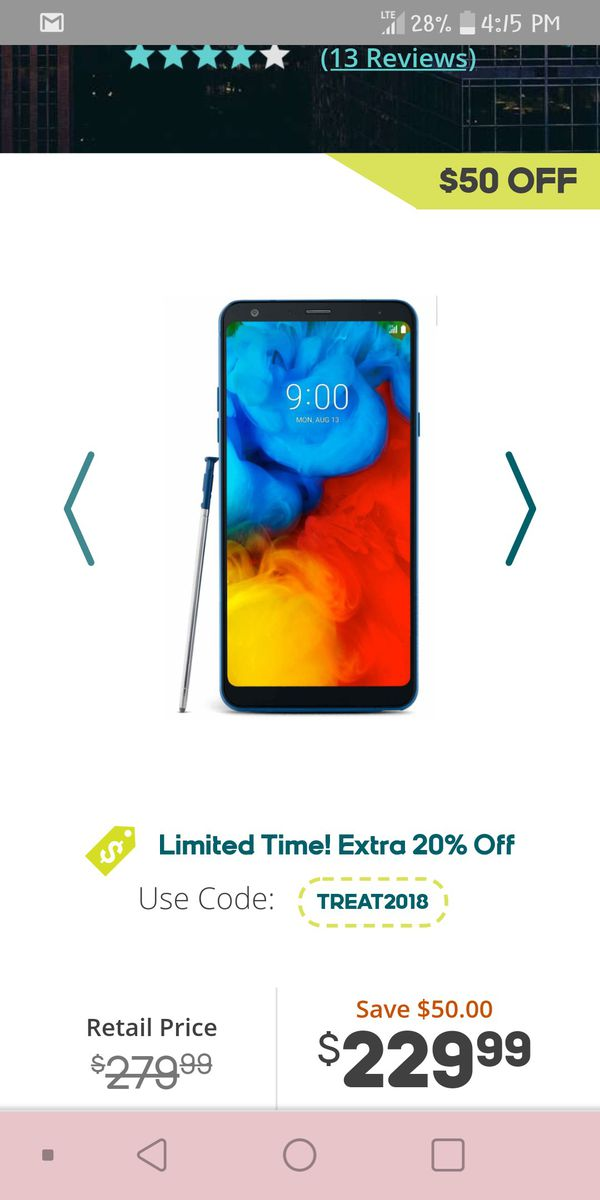 Brand new LG Stylo 4 plus for Sale in Kingsport, TN - OfferUp