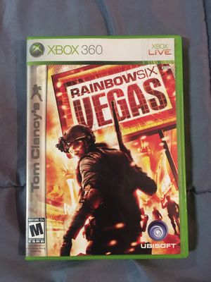 Rainbow Six Vegas for XBOX 360 for Sale in San Diego, CA