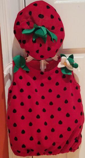 9-12 MONTHS Strawberry Halloween Costume for Sale in Fairfax, VA