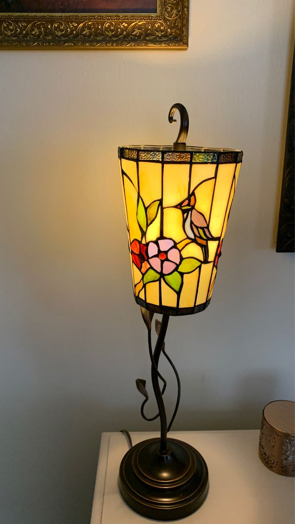 Humming Bird Stained Glass Table Lamp For Sale In Grand Junction Co Offerup
