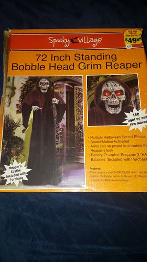 6' Talking Grim Reapet for Sale in Fort Washington, MD