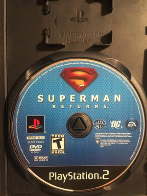 Used PS2 games Superman , sonic, drakenfard for Sale in Atlanta, GA