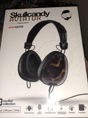 Skullcandy aviator 👩✈️ headphones decibel collection paid $165 for Sale in Miami, FL