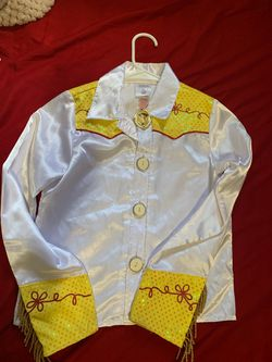 Disney Brand Jessie costume TOP ONLY Thumbnail