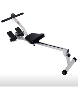 Sunny Health & Fitness SF-RW1205 12 Adjustable Resistance Rowing Machine Rower w/ Digital Monitor for Sale in Bothell, WA