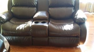Ashley's sofa with a recliner for Sale in Baltimore, MD