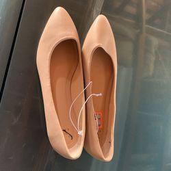 Flat Shoe, Nude Color, Size , 9,10,11 Thumbnail