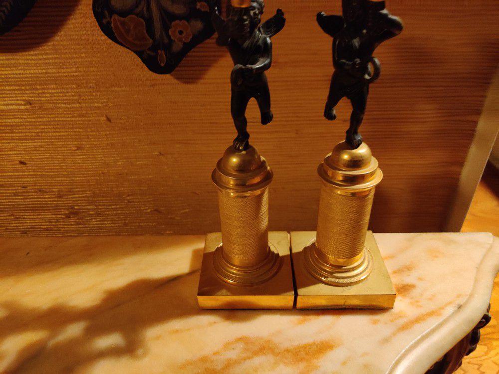 Cherub Candle Holders