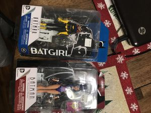 Batgirl and Zatanna action figures for Sale in Manteca, CA