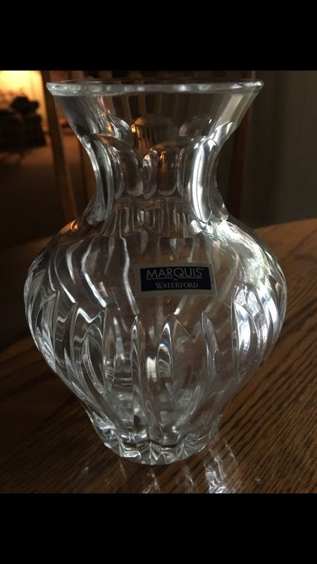 Marquis Waterford Crystal Vase For Sale In La Grange Park Il Offerup