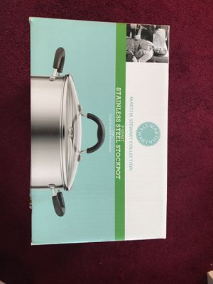 Stainless steel stockpot for Sale in Bethesda, MD