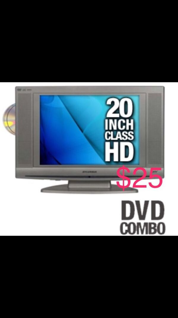 Sylvania LD200SL8 20 Inch LCD TV With Built In DVD Player