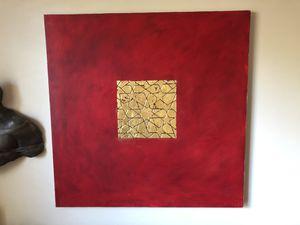 "Contemporary art piece ""Red"" for Sale in Atlanta, GA"