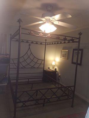 Queen Metal Bed Frame for Sale in Midlothian, VA