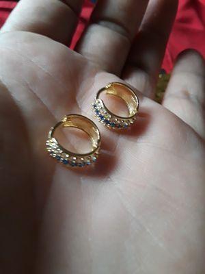 Aretes de oro de 14k for Sale in Herndon, VA