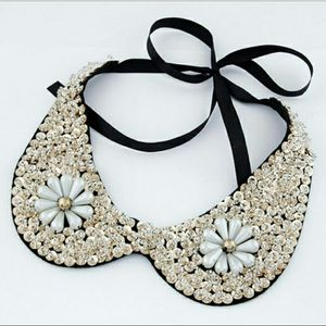 Pearl Beaded Collar Necklace for Sale in Fairfax, VA