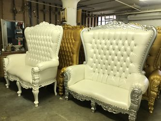 Beautiful throne chair.$1800. Best offer Thumbnail