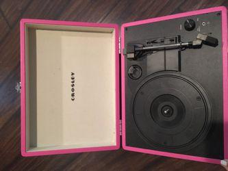 Crosley Pink Record Player Thumbnail