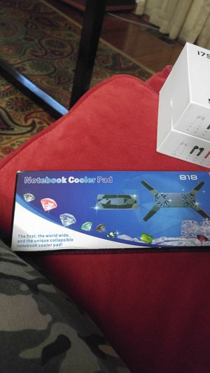 New Laptop Cooling Cooler Pad Stand USB powered 2 fans for Laptop Notebook for Sale in Burke, VA