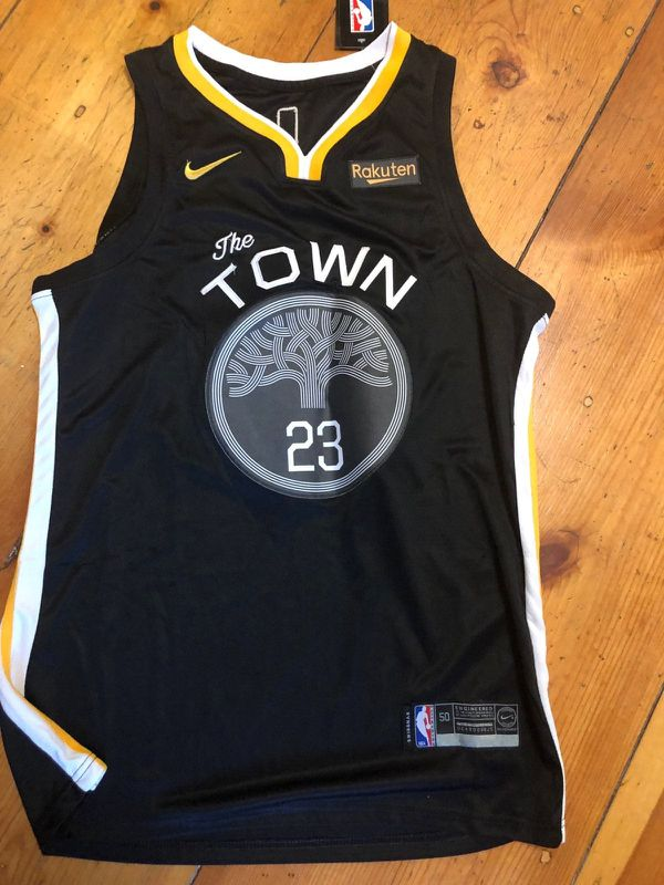 new style 09adc a1dbb New! Draymond Green The Town Black Jersey Lg. for Sale in Bethlehem, PA -  OfferUp