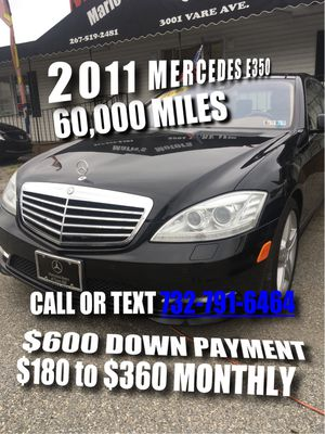 2011 Mercedes Benz E350 Come drive her today for Sale in Philadelphia, PA