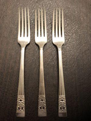 Antique Oneida Community Coronation Forks for Sale in Centreville, VA