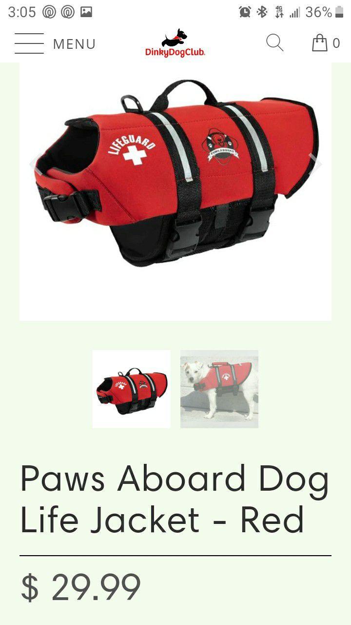 Small Pet Life Vest.