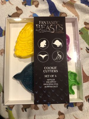 Fantastic Beasts and Where to Find Them Cookie Cutters for Sale in Washington, DC