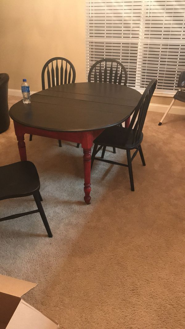 Primitive Dining Room Table W Chairs Furniture In Knoxville TN