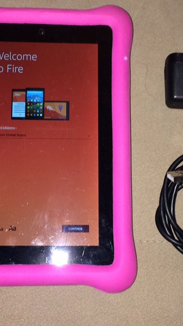 "Fire Tablet 8"" 120gb"